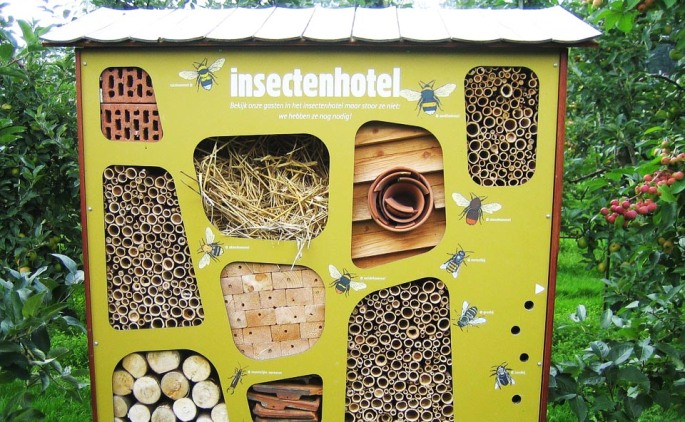 insect hotel, bug hotel, insect habitat, bug habitat, pollinators, beneficial insects