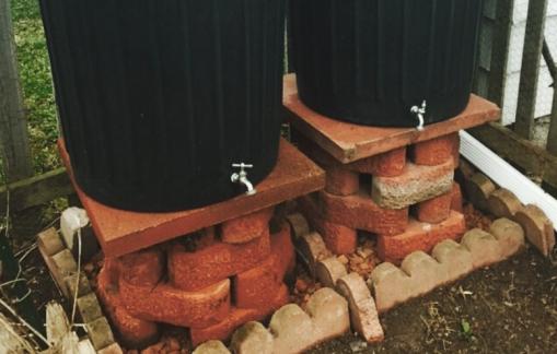 rain barrel, rainbarrel, DIY rain barrel, rainwater collection