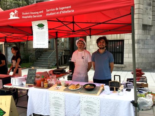 McGill Farmers Market, farmers market, market stall, farmers market stall