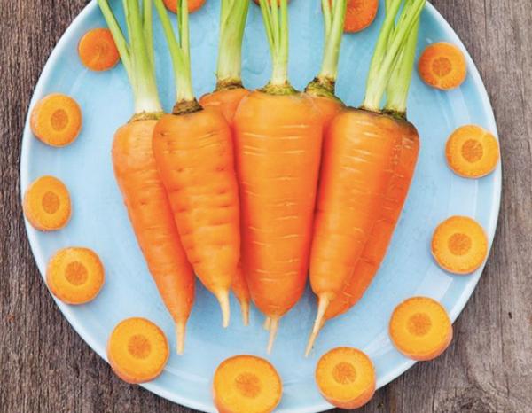 Chantenay carrots, dwarf carrots, mini carrots