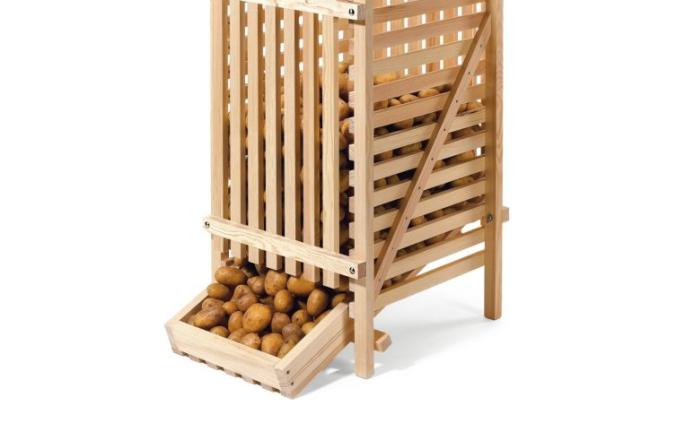 Potato storage crate